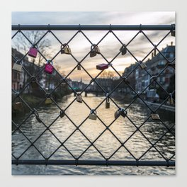 Locked Love Canvas Print