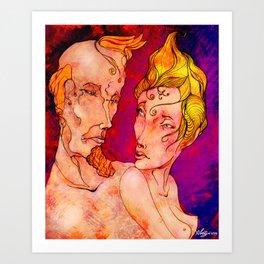 In Love Art Print