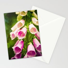 Painted Foxgloves Stationery Cards