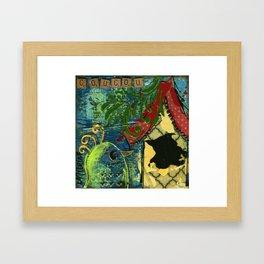 Coucou Framed Art Print