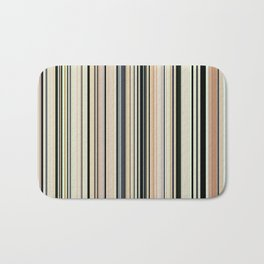 HIGH SOCIETY VINTAGE BEACH STRIPES 002 - Corbin Henry Bath Mat