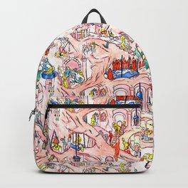 flesh cave Backpack
