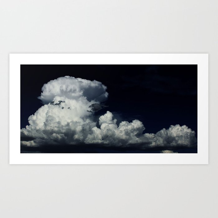 """Cobra Cloud"" Art Print"
