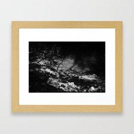 shade thrown Framed Art Print