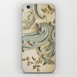 Blue Lace of Versailles iPhone Skin