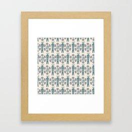 Petroglyphs Framed Art Print