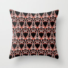 Baroque 1 Throw Pillow
