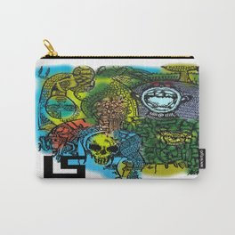 FROM THE DRAWING OF THE STARVING ARTIST Carry-All Pouch