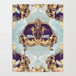 Floral Extravagance Poster