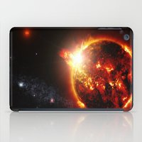 planet of the apes iPad Cases featuring Galaxy : Red Dwarf Star by 2sweet4words Designs
