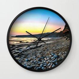Jurassic Coast (Painting) Wall Clock
