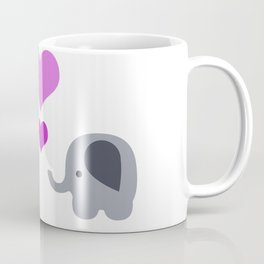 Elephant Kisses Coffee Mug