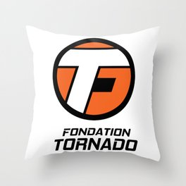 Bonus - Fondation Tornado Throw Pillow