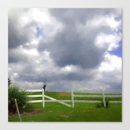 One Hot Summer Day Canvas Print