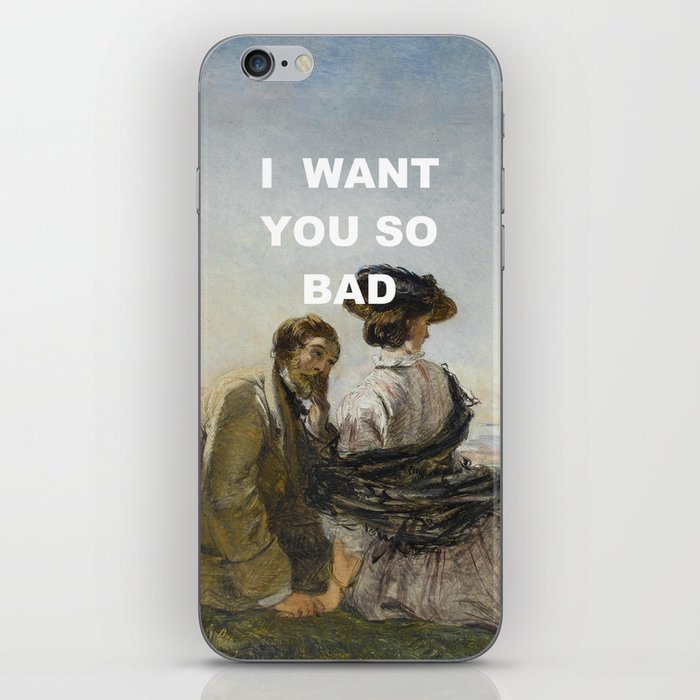 Want You Lovers iPhone Skin