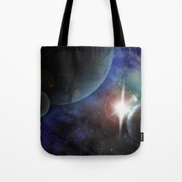 Space Age Tote Bag