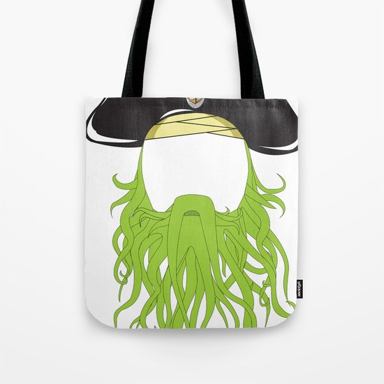 Davy Jones Tote Bag