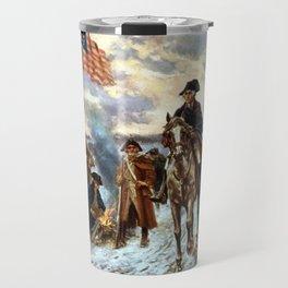 Washington At Valley Forge Travel Mug
