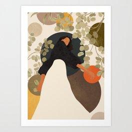 Living in Movement Art Print