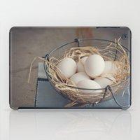 eggs iPad Cases featuring Eggs by Luisa Morón-Fotografía