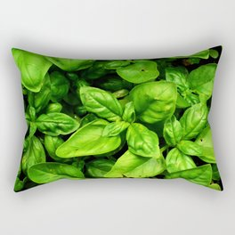 Raw Pesto Rectangular Pillow