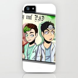 Totally real Doctors iPhone Case