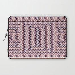 Lines Weave Brown Mauve 3 Laptop Sleeve