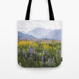 Waterton Wildflowers Tote Bag