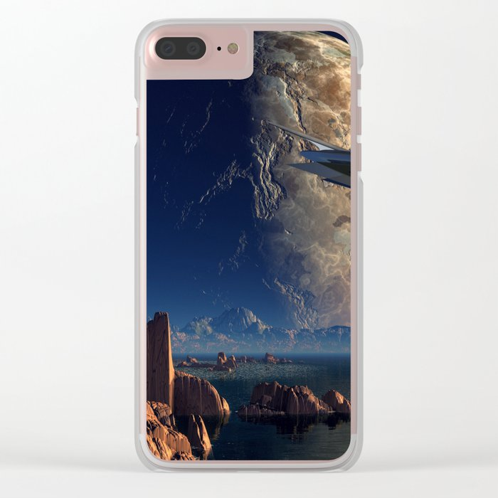 Imaginary  Land 2 Clear iPhone Case