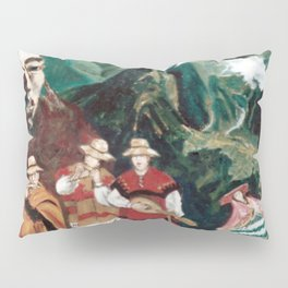 The ANDES             by Kay Lipton Pillow Sham