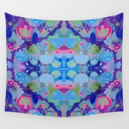 Staycation (blue) Wall Tapestry