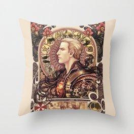 Biohazard Zodiac Throw Pillow