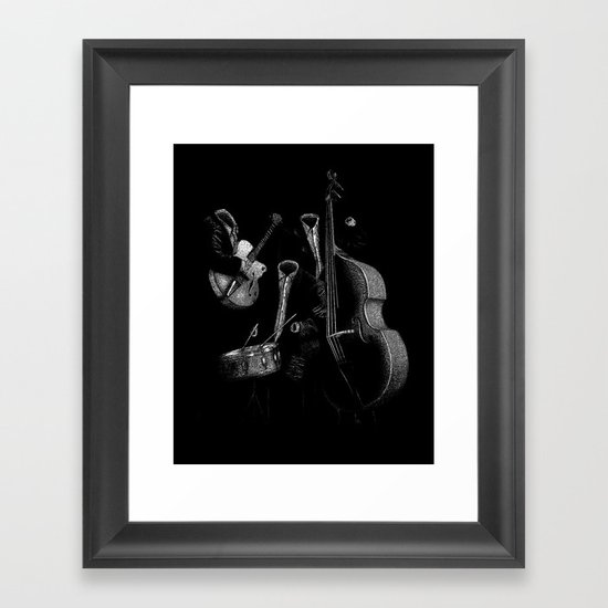 The Invisibles Framed Art Print