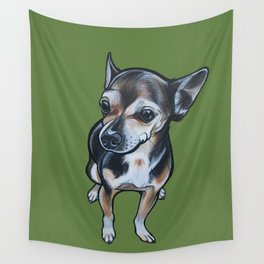 Artie the Chihuahua Wall Tapestry