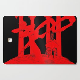 300 Red and Black Cutting Board