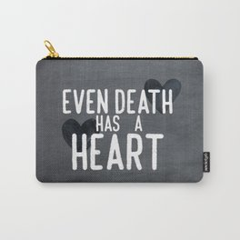The Book Thief - Even Death Has a Heart Carry-All Pouch