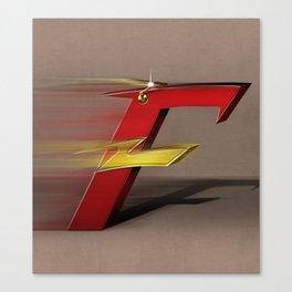 Superbet 'F' Canvas Print