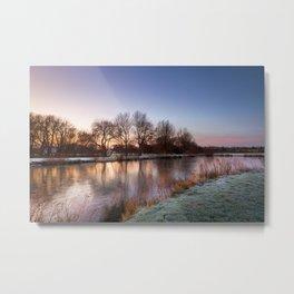 A Winter's Sunrise Metal Print