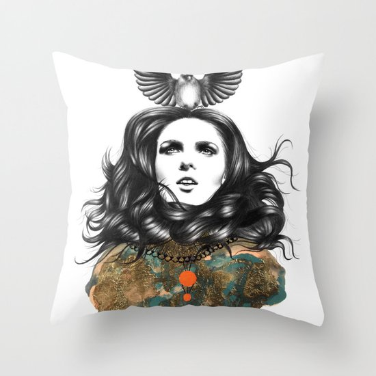 US AND THEM / THE OATH Throw Pillow