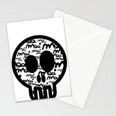 MOOIMOOI SKULL Stationery Cards