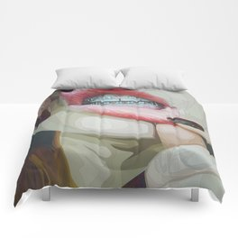 Wresting and Wired Comforters