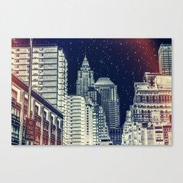 New York. Gotham City. Canvas Print