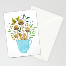 Relaxing Shrooms Stationery Cards