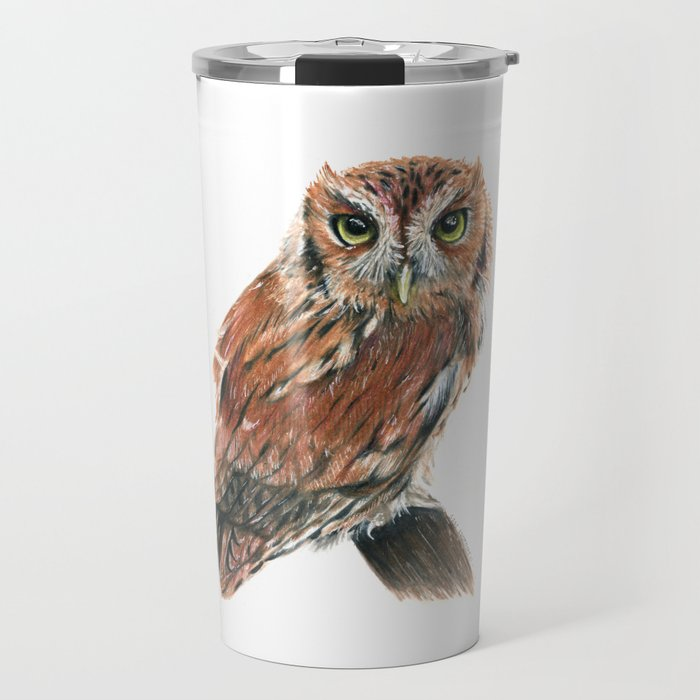 Screech Owl Travel Mug