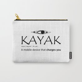 Kayak, A Mobile Device That Charges You Carry-All Pouch
