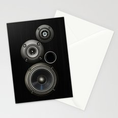 Speakers Stationery Cards
