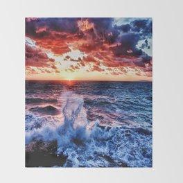 SuNset Waters Throw Blanket