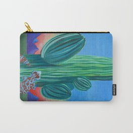 Saguaro Cactus Sunset Carry-All Pouch