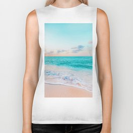 Ocean Bliss #society6 #society6artprint #buyart Biker Tank