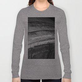 Barrels In Black & White Long Sleeve T-shirt